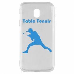 Чохол для Samsung J3 2017 Table Tennis Logo