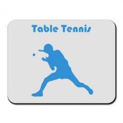 Коврик для мыши Table Tennis Logo