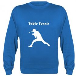 Реглан (свитшот) Table Tennis Logo - FatLine