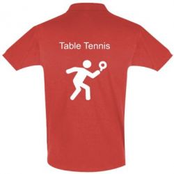 Футболка Поло Table Tennis - FatLine