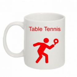 Кружка 320ml Table Tennis