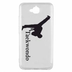 Чехол для Huawei Y6 Pro Taekwondo - FatLine