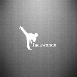 Наклейка Taekwondo