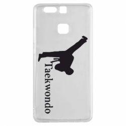 Чехол для Huawei P9 Taekwondo - FatLine