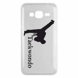 Чехол для Samsung J3 2016 Taekwondo