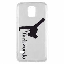 Чехол для Samsung S5 Taekwondo