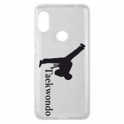 Чехол для Xiaomi Redmi Note 6 Pro Taekwondo - FatLine