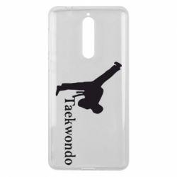 Чехол для Nokia 8 Taekwondo - FatLine