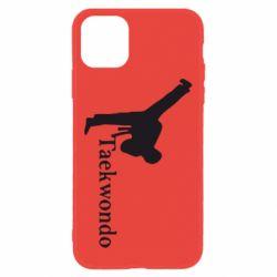 Чехол для iPhone 11 Taekwondo