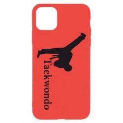 Чехол для iPhone 11 Pro Taekwondo