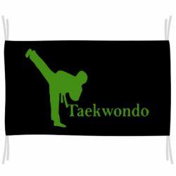 Флаг Taekwondo