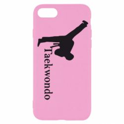 Чехол для iPhone 7 Taekwondo