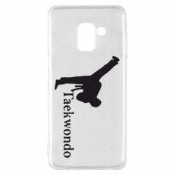 Чехол для Samsung A8 2018 Taekwondo