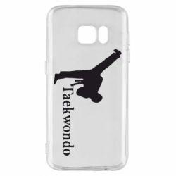 Чехол для Samsung S7 Taekwondo