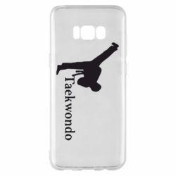Чехол для Samsung S8+ Taekwondo