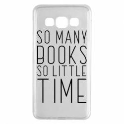 Чохол для Samsung A3 2015 Так багато книг так мало часу