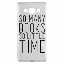 Чохол для Samsung A5 2015 Так багато книг так мало часу