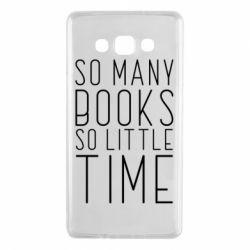 Чохол для Samsung A7 2015 Так багато книг так мало часу