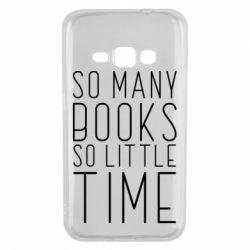 Чохол для Samsung J1 2016 Так багато книг так мало часу