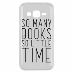 Чохол для Samsung J2 2015 Так багато книг так мало часу