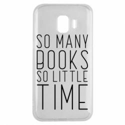 Чохол для Samsung J2 2018 Так багато книг так мало часу