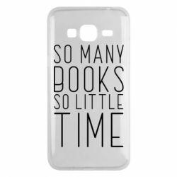 Чохол для Samsung J3 2016 Так багато книг так мало часу