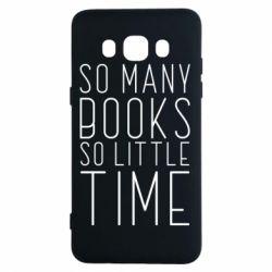 Чохол для Samsung J5 2016 Так багато книг так мало часу
