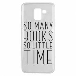 Чохол для Samsung J6 Так багато книг так мало часу