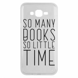 Чохол для Samsung J7 2015 Так багато книг так мало часу
