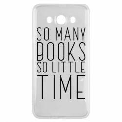 Чохол для Samsung J7 2016 Так багато книг так мало часу