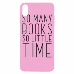 Чохол для iPhone Xs Max Так багато книг так мало часу