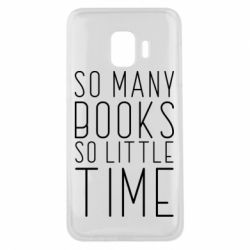 Чохол для Samsung J2 Core Так багато книг так мало часу