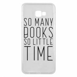 Чохол для Samsung J4 Plus 2018 Так багато книг так мало часу