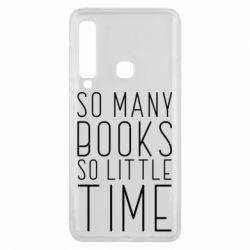 Чохол для Samsung A9 2018 Так багато книг так мало часу