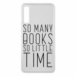 Чохол для Samsung A7 2018 Так багато книг так мало часу