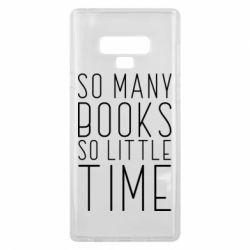 Чохол для Samsung Note 9 Так багато книг так мало часу
