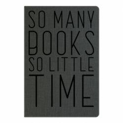 Блокнот А5 Так багато книг так мало часу