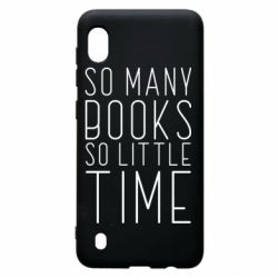 Чохол для Samsung A10 Так багато книг так мало часу