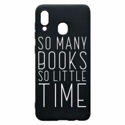 Чохол для Samsung A30 Так багато книг так мало часу