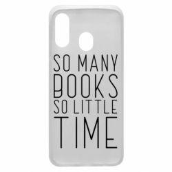 Чохол для Samsung A40 Так багато книг так мало часу