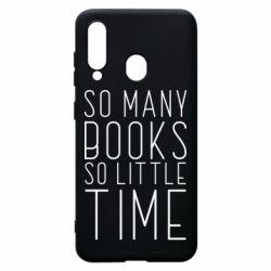 Чохол для Samsung A60 Так багато книг так мало часу