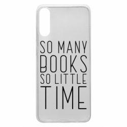 Чохол для Samsung A70 Так багато книг так мало часу