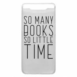 Чохол для Samsung A80 Так багато книг так мало часу