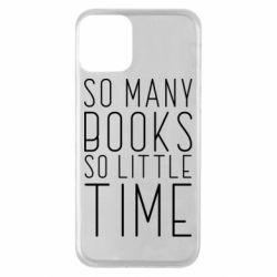 Чохол для iPhone 11 Так багато книг так мало часу
