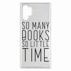 Чохол для Samsung Note 10 Plus Так багато книг так мало часу