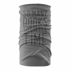 Бандана-труба Так багато книг так мало часу