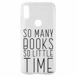 Чохол для Xiaomi Mi Play Так багато книг так мало часу