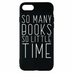 Чохол для iPhone 8 Так багато книг так мало часу
