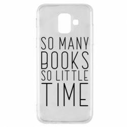 Чохол для Samsung A6 2018 Так багато книг так мало часу
