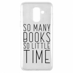 Чохол для Samsung A6+ 2018 Так багато книг так мало часу